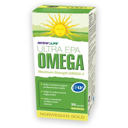 Renew Life Norwegian Gold Ultra EPA Omega