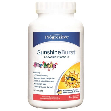 Progressive Nutritionals Sunshine Burst Vitamin D for kids