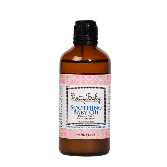Pretty Organic Cosmetics Soothing Baby Oil