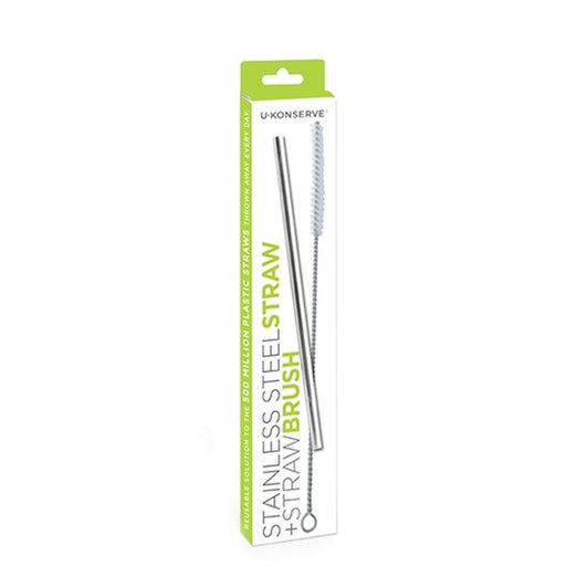 Stainless Steel Straws plus Straw Brush