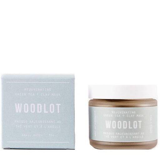 Woodlot Rejuvenating Green Tea Clay Mask