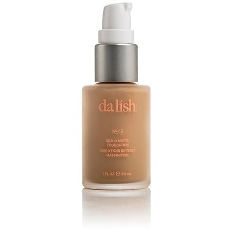Dalish Cosmetics Silk-to-Matt Foundation No.3