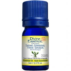 Divine Essence Thyme Organic Essential Oil