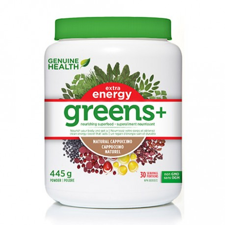 Genuine Health Greens+ Extra Energy 445g