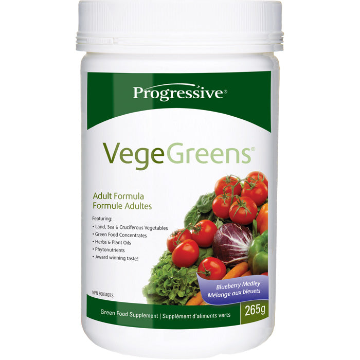 Progressive Nutritionals VegeGreens Blueberry