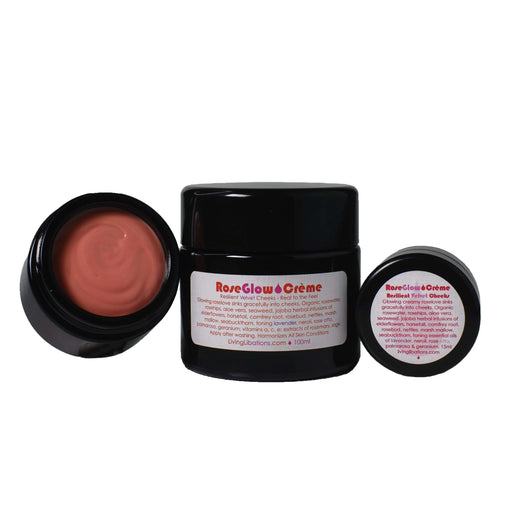 Living Libations Rose Glow Creme