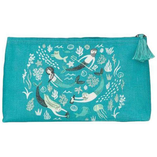Danica Studio Sea Spell Linen Cosmetic Bag Small