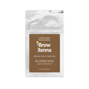 BrowXenna® #203 Light Chestnut (Sachet)