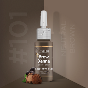 BrowXenna® #101 Neutral Brown (Vial)