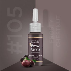 BrowXenna® #105 Frosty Chestnut (Vial)