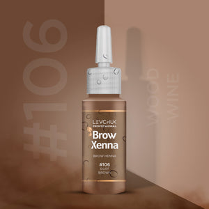 BrowXenna® #106 Dust Brown (Vial)