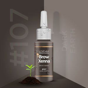 BrowXenna® #107 Dark Earth (Vial)