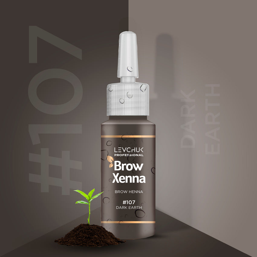 **NEW** BrowXenna® #107 Dark Earth (Vial)