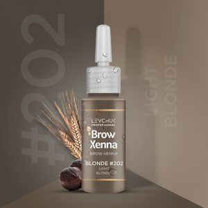 BrowXenna® #202 Light Blonde (Vial)