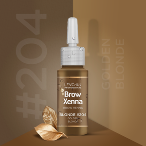 BrowXenna® #204 Golden Blonde (Vial)