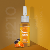 BrowXenna® #210 Amber Concentrate (Vial)