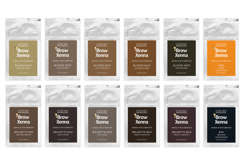 BrowXenna® Set of Sachets