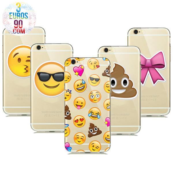 coque iphone 8 silicone emoji