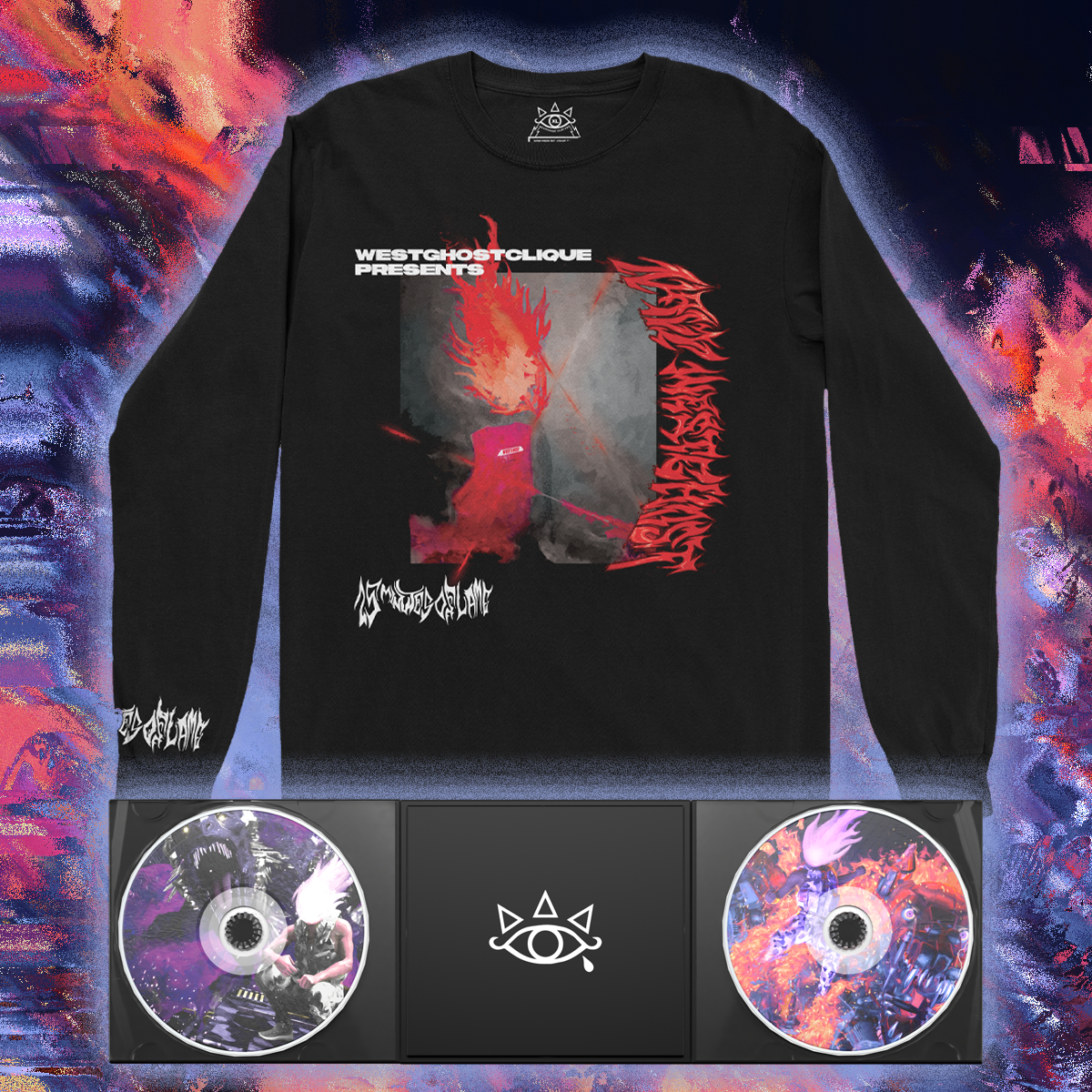 15 MINUTES OF FLAME BUNDLE [LONGSLEEVE + 2CD DIGIPAK]
