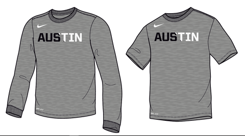 Men's Grey Austin Long Sleeve