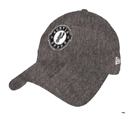 Graphite Austin Spurs Fitted Cap