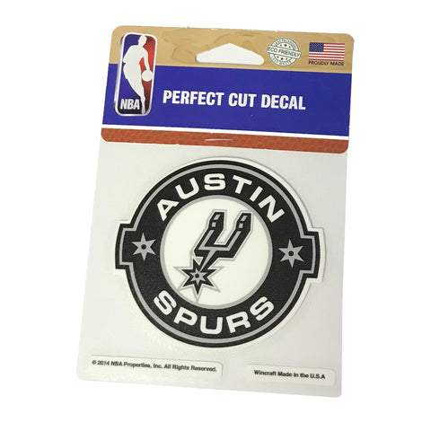 Austin Spurs Car Decal