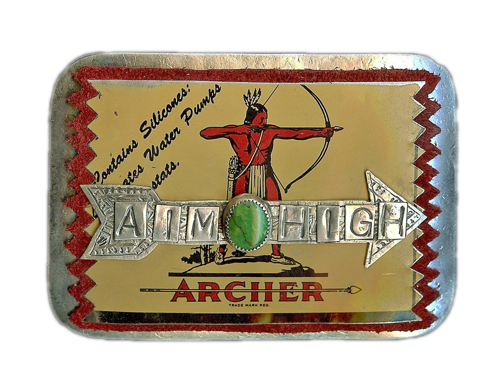 Aim High Belt Buckle