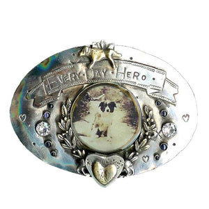 Everyday Hero Custom Belt Buckle