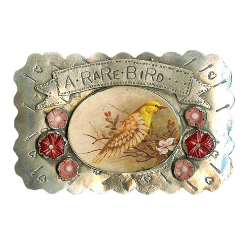 Rare Bird Belt Buckle