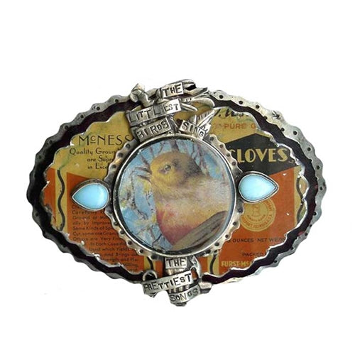 Littlest Birds Belt Buckle