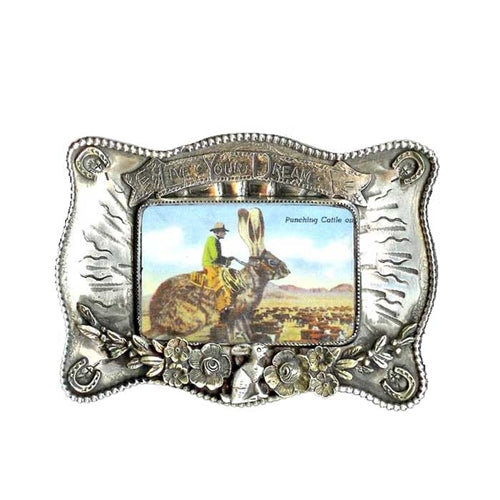 Live Your Dream Belt Buckle