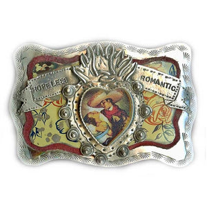 Hopeless Romantic Belt Buckle