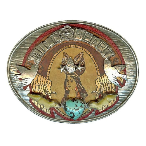 Wild Heart Belt Buckle