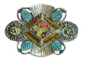 Hummingbird Belt Buckle
