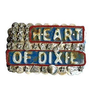 Heart Of Dixie Belt Buckle