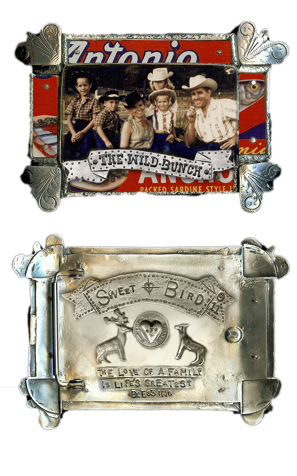 The Wild Bunch Belt Buckle