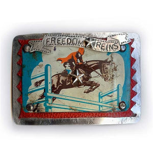 Freedom Reigns Belt Buckle