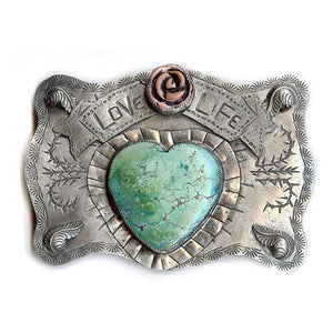 Love Life Belt Buckle