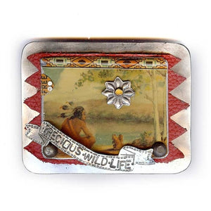 Precious Wildflfe Belt Buckle