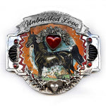 Unbridled Love Belt Buckle