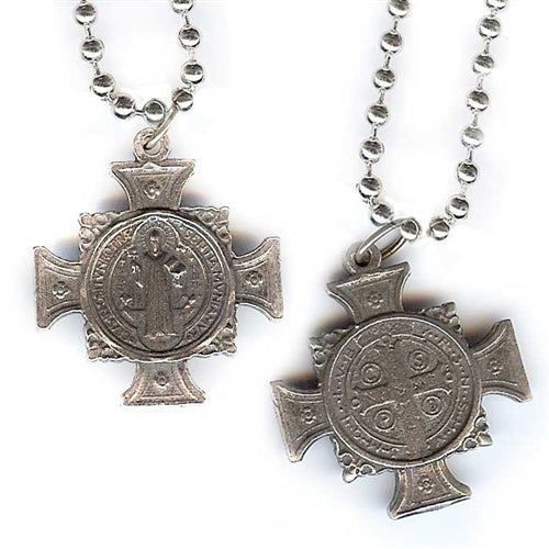 Filigree Iron Cross Charm