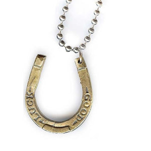 Good Luck Horseshoe Charm