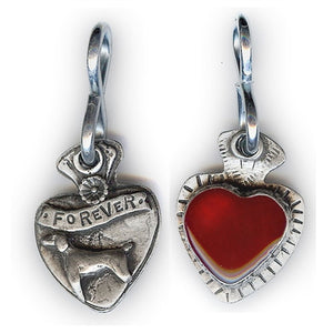 Forever Heart Dog Tag