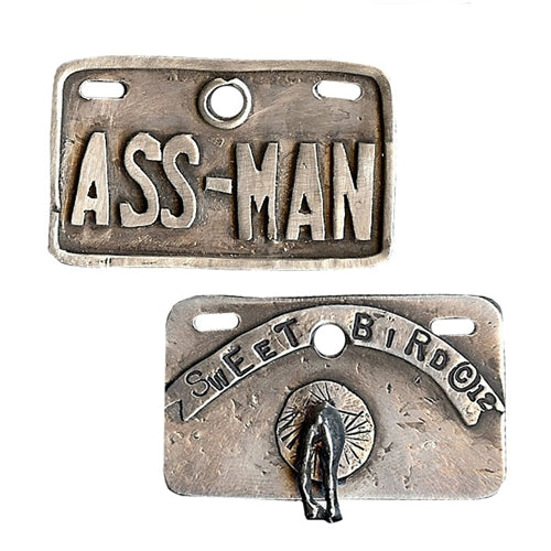 Ass Man Dog Tag