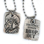 Obedience School Drop-Out Necklace