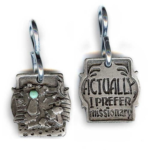 Actually, I Prefer Missionary Dog Tag