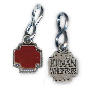 Human Whisperer Dog Tag