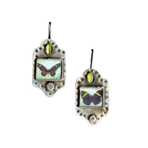 Large Butterfly Earrings