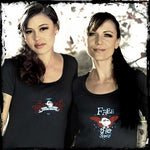 Women's Free The Sheep with Wings Logo Tee