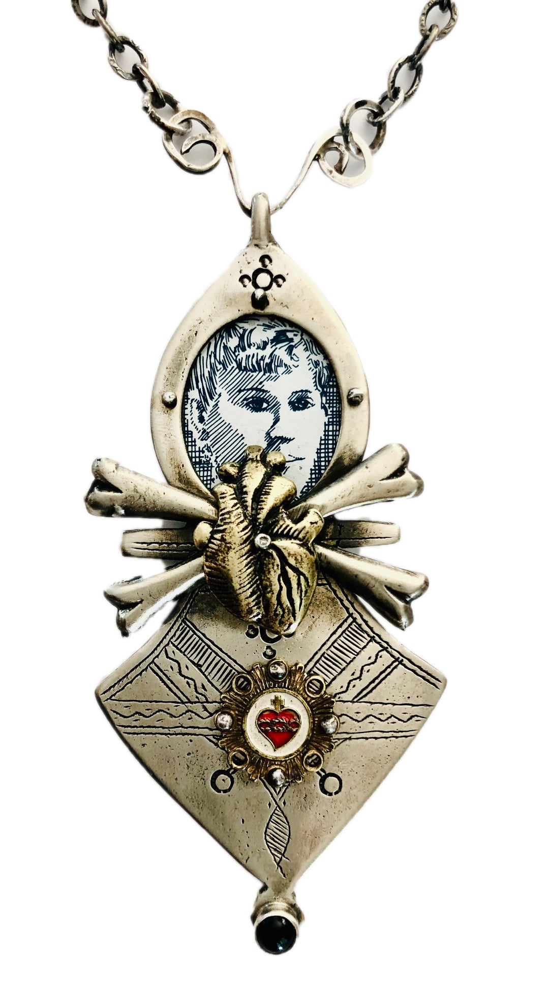 Lovers In A Dangerous Time Necklace